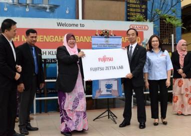 Fujitsu Malaysia supports SMK Seafield's ICT Aspirations