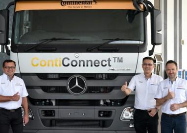 Continental presents ContiConnect Digital Tire Monitoring Platform with Unique Sensor