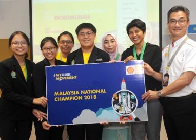 SMK Lutong, Miri crowned as the #MyGeekMovement National Champion