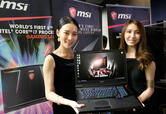 MSI unveils New Line of Gaming Laptops powered by Intel 8th Generation Processors