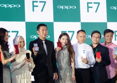 OPPO F7 brings a Mix of Local and International Fanfare with Product Ambassadors Neelofa and Hebe Tien