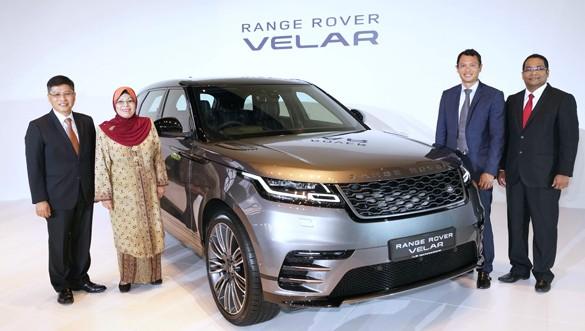 A New Design Masterpiece unveiled: The Range Rover Velar