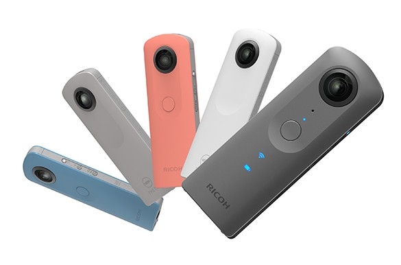 Ricoh Theta V 360-degree Hybrid Camera