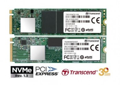 Transcend introduces High-Performance PCIe NVMe M.2 SSDs for Consumer and Embedded Applications