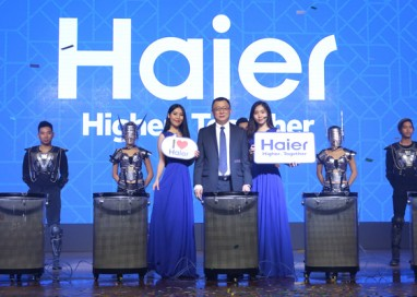 "HAIER unveils ""Haier World of Home Appliances"""