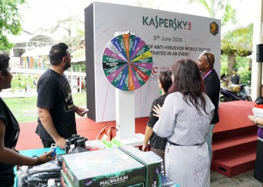 Kaspersky Lab Celebrates 20th Anniversary with Malaysian Record Attempt for Most Number of Anti-Virus for Mobile Devices Activated in an Event