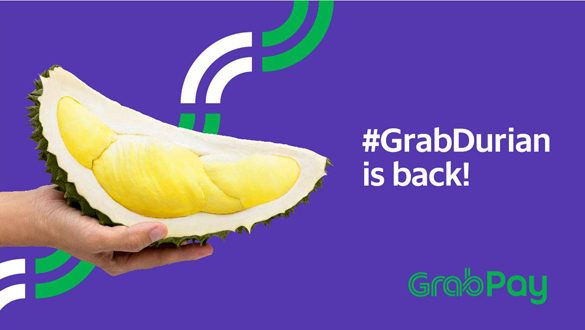 #GrabDurian is back again!