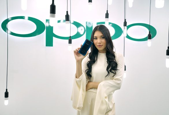 Zahirah MacWilson and Keda'Z appear as Special Guests at the Launch of OPPO Find X
