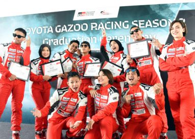 Celebrities and Teen Drivers all geared up for the Opening Race of the Second Season Toyota Vios Challenge