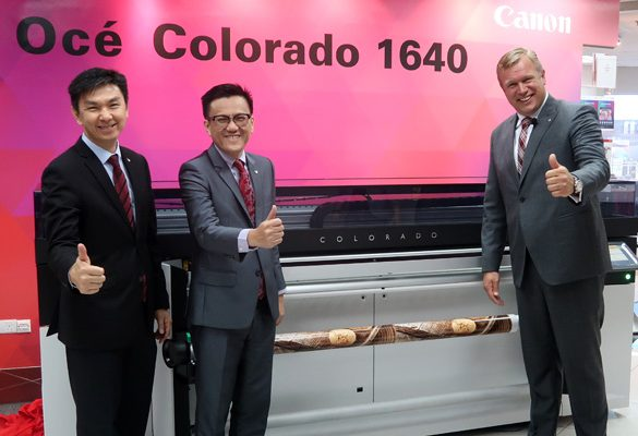 Canon's Océ Colorado 1640 revolutionises Large-Format Printing with Canon UVgel Technology for Advanced Quality, Versatility and Speed