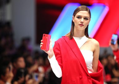 HUAWEI shakes up the Fashion Scene with HUAWEI nova 3 red