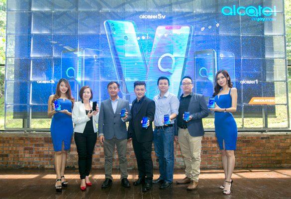 TCL Communication expands limits with Alcatel 5V