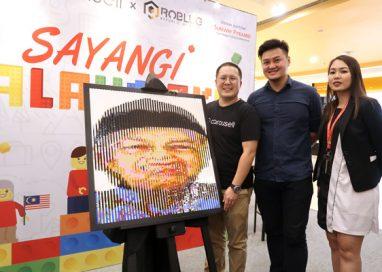 "Carousell's ""Sayangi Malaysiaku"" Lego Art Exhibition in Sunway Pyramid"