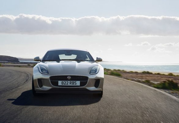 Feast your eyes on the New Jaguar F-Type Coupé