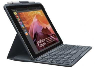 New Logitech SLIM FOLIO Gives iPad Laptop-like Typing with One Click
