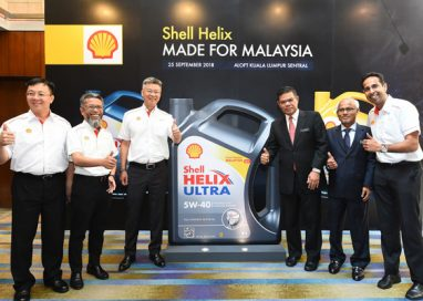 Genuine Shell Helix Engine Oils now with 'Made for Malaysia' Labels