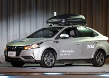 Acer unveils Self-driving Concept Car