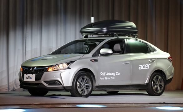 Acer unveils Self-driving Concept Car