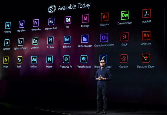 Adobe announces Next Generation of Creative Cloud at MAX 2018