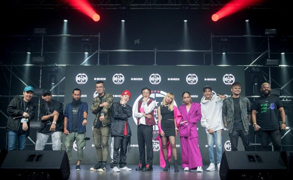 G-SHOCK continues to celebrate 35th Year Anniversary with Shock The World Kuala Lumpur 2018 Party