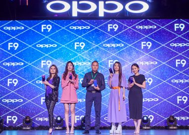 OPPO to reveal the F9 Starry Purple Limited Edition Gift Box with Megastars Hebe Tien and Ayda Jebat