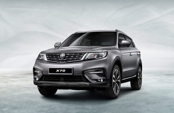 Online Bookings now open for Proton X70