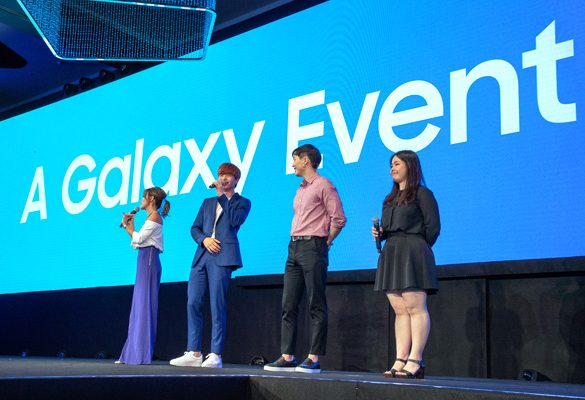 Live in the moment with the Galaxy A