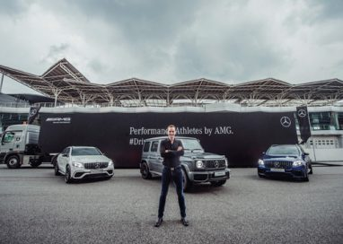 Mercedes launches the Ultimate Performance Athletes in New GLC-Class & New G-Class