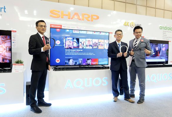 Sharp launches new product range, reaffirms focus on technology and innovation in line with consistent brand direction