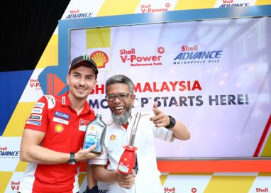 Shell Malaysia kicks off MotoGP Celebration through a Rider Meet and Greet session with Jorge Lorenzo