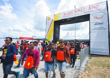 Shell ramped up the Malaysia MotoGP Experience for all