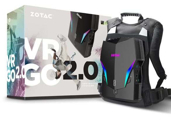 Indulge in the Next-Level VR Immersion with ZOTAC VRGO 2.0 Backpack PC