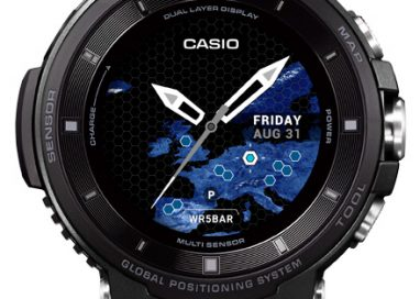 Casio to release PRO TREK Smart with Color Maps