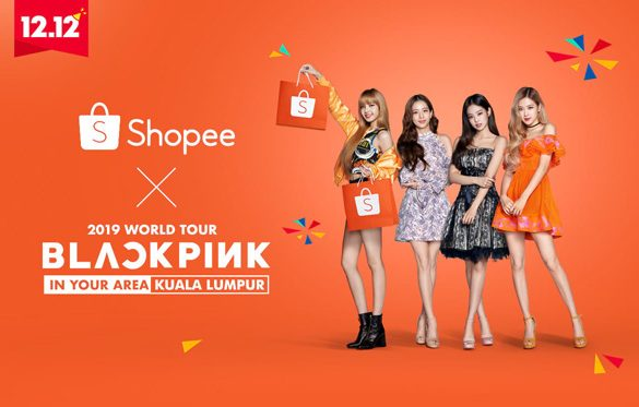 Music to the Ears: BLACKPINK Rockin' it Out on Shopee Malaysia