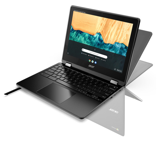 Acer debuts Two Durable 12-Inch Chromebooks for Classroom Use   MAXIT