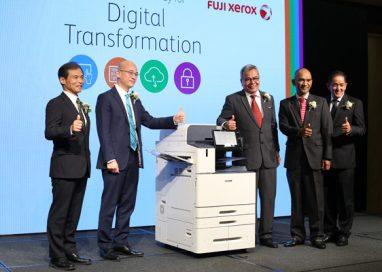 Minister of Entrepreneur Development launches Fuji Xerox Smart Work Gateway for Digital Transformation