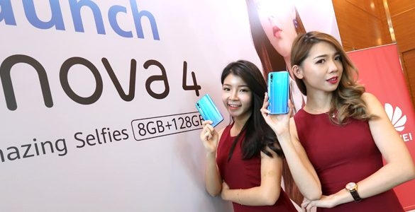 Huawei launches Malaysia's First Punch FullView Display with Huawei nova 4