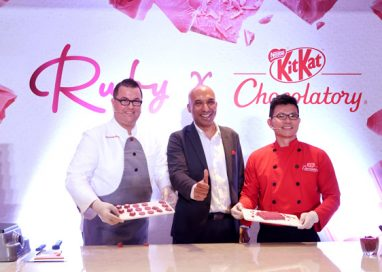 Naturally Pink Ruby Chocolate makes Southeast Asia Debut
