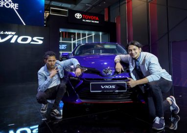 Toyota celebrates the launch of its All-New 2019 Vios, As Never Before, with A Grand Music Video