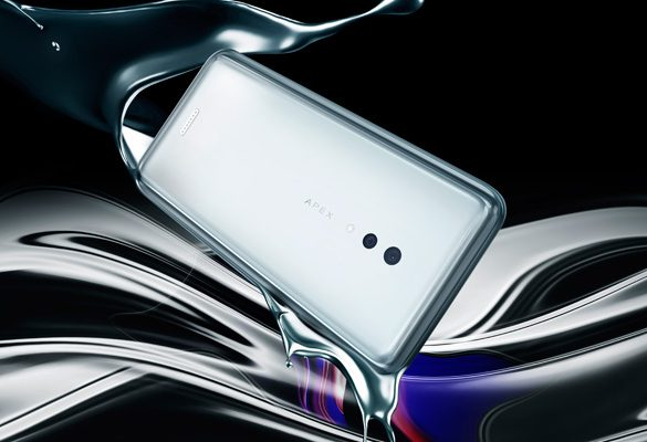 Vivo unveils the New Futuristic APEX 2019 Concept Smartphone