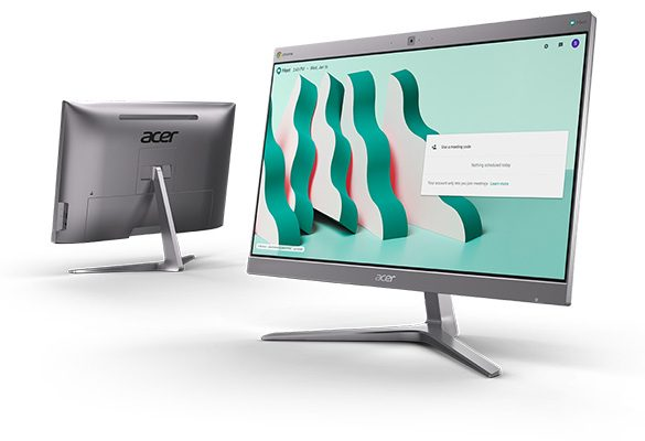 Acer debuts Two Sleek Chromebases for Meetings and Productivity
