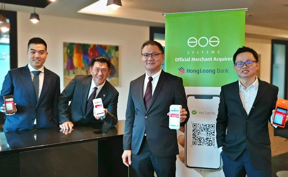 EOS Systems appointed Official WeChat Pay (MYR) Merchant Acquirer Partner by Hong Leong Bank