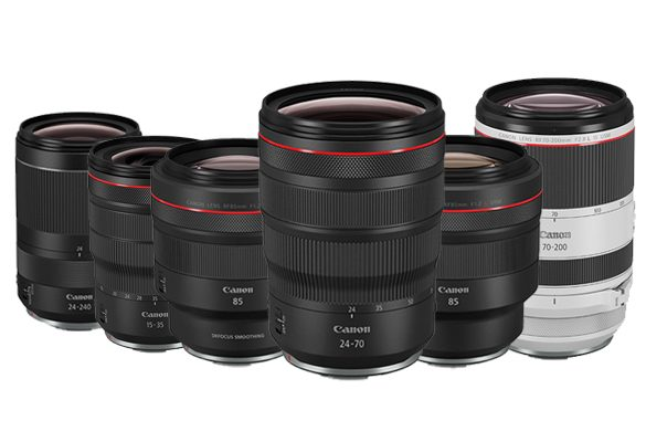 "Canon is adding ""Must Have"" lenses to the RF family in 2019."