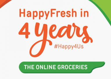 HappyFresh celebrates 4th Anniversary with Remarkable Growth and New CSR Initiative