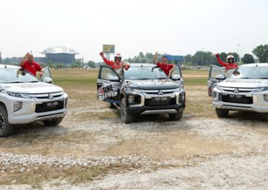 Mitsubishi 4Sure Thrill Event with Two-Time Dakar Rally Champion, Hiroshi Masuoka & Malaysian Motorsports Athlete, Leona Chin