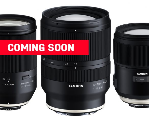 New Tamron lenses for your DSLR and E-Mount this year