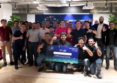 Park Smartly won the AWS Hackdays 2019 Demo Day
