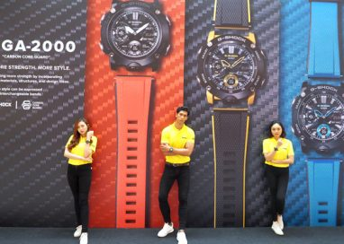 Casio Malaysia launches G-Shock with New Carbon Core Guard