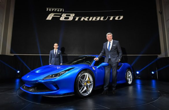Ferrari Malaysia launches the stunning Ferrari F8 Tributo
