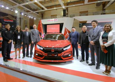 Honda Civic Type R Mugen Concept premiering at Malaysia Autoshow 2019